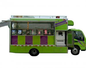 JAC Multi Function Mobile Kitchen Truck / Movable Food Catering ...