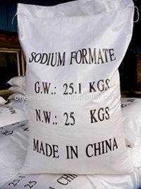 sodium formate 95% min