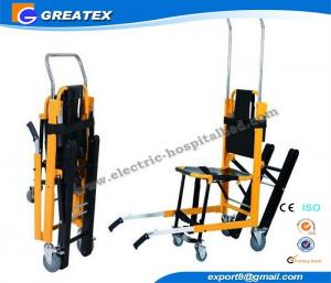 China Aluminum Alloy Transfer Medical Stretcher , Foldable Flexible Emergency Stair Stretcher on sale