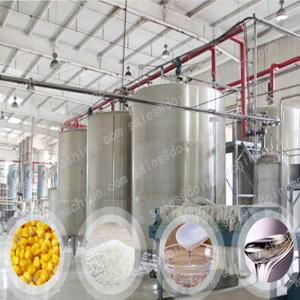 China High quality F42 glucose syrup production machine / liquid glucose syrup processing plant on sale