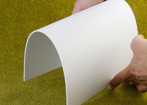 China Outdoor Flexible PVC Sign Board Fireproof Lightweight Custom 1220 X 2440mm on sale