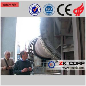 China Cement Making Machinery Cement Production Line Rotary Kiln for Sale on sale