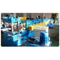 Supermarket Upright Shelve Rack Roll Forming Equipment With Cr12 Mould Steel Rollers