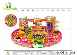 China Colorful Indoor Adventure Playground Anti - Static Custom Made Design on sale
