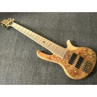 China 6 Strings Electric Bass Guitar Maple Body Active pickups Bass Guitar Music instruments on sale