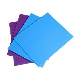 China PP plastic polypropylene correx sheet pp hollow core plastic sheets / board on sale