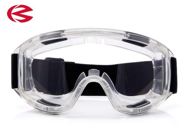 c42f6ba52d4 Elastic Band Clear Lens Industrial Safety Sunglasses Glasses UV Protection  Images