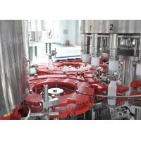 Monoblock Bottled Hot Filling Machine Heat-resistant For Fruit Juice Making