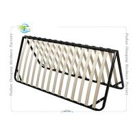 Folded Metal Slatted Bed Base Frame For King Size / Queen Size Mattrress