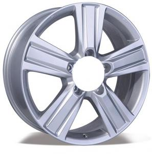 China 60 et silver star car aluminum rims 5 holes 18/20 inch alloy wheels on sale