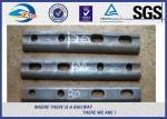 Siga el negro ferroviario del llano/del óxido de la eclisa para el carril de acero estándar