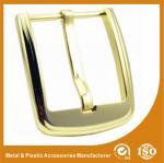Hebillas del cinturón plateadas oro de encargo brillante fuerte de lujo del metal de la hebilla del cinturón