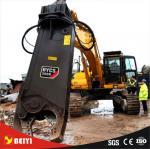 A tesoura hidráulica da sucata de BEIYI para a demolição de aço móvel da máquina escavadora giratória/fixou o tipo