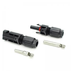 China PPO Insulated Solar DC Connectors , Multi Contact 4 IP67 Solar Connector on sale