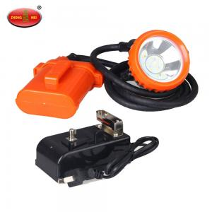 China Hot KJ3.5LM High Power LED Mining Safety Cap Lamp medium orange hydrogen batteries on sale