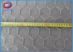 China Hexagonal Wire Mesh Stainless Steel Poultry Netting For Feeding Chicken on sale