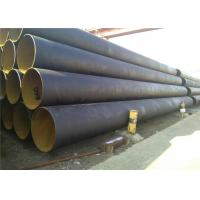 Big Inch Thin Wall Spiral Steel Pipe SSAW 3PE / 3LPE / FBE/ Epoxy Coated