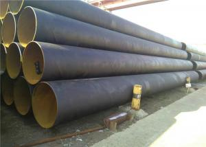 China Big Inch Thin Wall Spiral Steel Pipe SSAW 3PE / 3LPE / FBE/ Epoxy Coated on sale