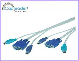 China Computer Cables KVM Cable HD 15Pin male to HD 15Pin female on sale