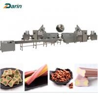 China Good Pet Treats Dog Chews Bone food Extruder Machine  ISO9001 2008 Certification on sale