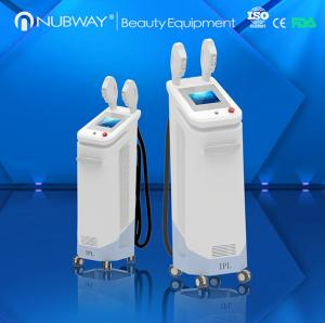 China Newest vertical Japan cooper radiator SHR/SSR ipl hair removal machine for sale on sale