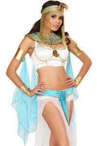 China International Cleopatra Adult Fancy Dress , Lingerie Sexy Pumpkin Costumes on sale