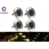 IP65 Solar Path Lights 0.5W Weather Resistant 2V 40mA Easy Installation