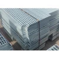 Platform Metal Grid Flooring , High Strength Q235 Metal Grating Walkway