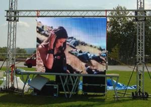 China Full Color Outdoor Rental LED Screen Panel P4 P5 P6 , Die Casting External LED Display supplier