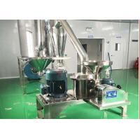 China Stainless Ultrafine Chemical Pulverizer , Sugar Pulverizer 100-400 Mesh on sale