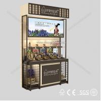 2014 Hot sale cosmetics display design showcase