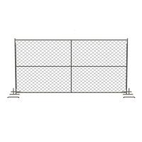 China Silver Temporary Mesh Fence Panels Metal Pipe and Wire Mesh Materials on sale