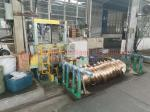 Aluminum Wire Coil Wrapping Machine With PLC Control Program 3KW