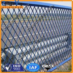 China de alta calidad aplane la cerca ampliada de la malla de alambre del metal para la malla antideslumbrante del camino on sale