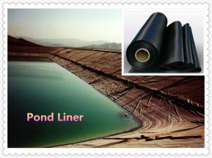 China 2mm plastic waterproof hdpe high density polyethylene geomembrane sheet on sale