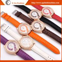 HY01 6 Colors Woman Watches PU Leather Watch Quartz Analog Watches Luxury Dress Watch New