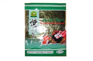 China Organic Dried Edible Seaweed A401 / Sushi Nori 10 Sheets on sale