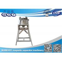 2T 3KW φ 220mm Double Cooling Dry Magnetic Separator Machine For Iron Ore Dressing