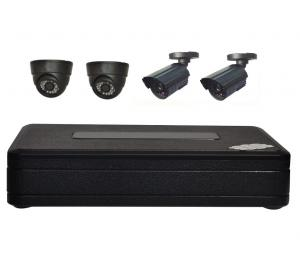 China Home CCTV Security System Mini 4CH DVR Kits on sale