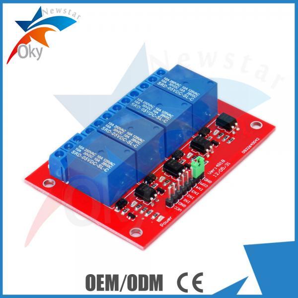 Demo Code 4-channel Arduino Relay Module , 5V / 12V Relay Control