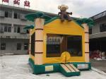 Air Monkey Inflatable Bouncer , Palm Tree Samll Inflatable Bounce Castle For Little Kids