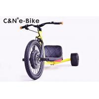China 20'' Electric Three Wheel Big Wheel Drifting Trikes , High Roller Adult Big Wheel on sale