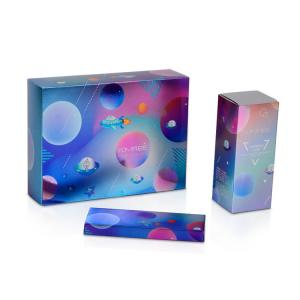 China Colorful Printed Cosmetic Paper Box , Custom Logo Skin Care Packaging Box on sale