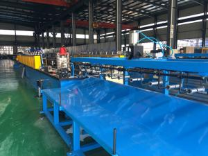 China 14 stations Solar Roll Forming Machine with 65mm solid shaft on sale