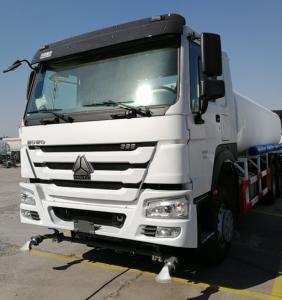 China 10 Wheeler 6x4 Water Sprinkler Truck 20m3 Tank Size With 371HP Engine on sale