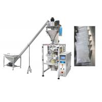 Automated Powder Packaging Machine / Vertical Packing Machine With Auger Filler