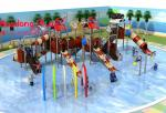 Giant Water Park Equipment , Beautiful Commercial Outdoor Play Equipment Top Rated