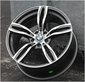 China Auto aluminum wheel 5X120 wheels alloy rim best price OEM acceptable on sale