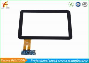 China Commercial 12.1 Projected Capacitive Touch Screen Frame Panel Glass Panel For Lcd on sale