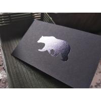 China 600gsm Foil Print Business Cards , Custom Design Business Cards Interior Designer on sale